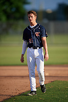 Tim Borden (21) while playing for Team Elite Prime based out of Winder, Georgia during the WWBA World Championship at the Roger Dean Complex on October 21, 2017 in Jupiter, Florida.  Tim Borden is a shortstop / second baseman from Sellersburg, Indiana who attends Our Lady Of Providence High School.  (Mike Janes/Four Seam Images)