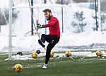 St Johnstone Training…. 15.01.21<br />Zander Clark pictured during training at McDiarmid Park ahead of tomorrows game against St Mirren<br />Picture by Graeme Hart.<br />Copyright Perthshire Picture Agency<br />Tel: 01738 623350  Mobile: 07990 594431