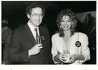 Francis Fox et sa femme<br /> circa 1979<br /> <br /> <br /> PHOTO :  Agence Quebec Presse