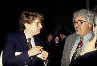 FILE PHOTO -  John Parizella and Mario Bertrand in 1995<br /> <br /> PHOTO :   Agence quebec Presse