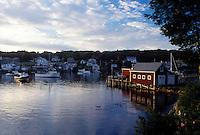 New Harbor, ME, Maine, Pemaquid Area, Scenic fishing village of New Harbor.