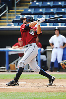 Mahoning Valley Scrappers outfielder Josh McAdams (7) during game against the Staten Island Yankees at Richmond County Bank Ballpark at St.George on July 22, 2013 in Staten Island, NY.  Mahoning Valley defeated Staten Island 8-2.  Tomasso DeRosa/Four Seam Images
