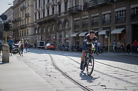 Igor Anton (ESP/Dimension Data) rolling out in the streets of Milano after finishing the closing time trial<br /> <br /> stage 21: Monza - Milano (29km)<br /> 100th Giro d'Italia 2017