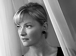 """Gretchen Mol at the Four Seasons hotel, Wednesday in Beverly Hills. She was annointed Hollywood's Next Big Thing by no less than Vanity Fair. Then she seemingly disappeared. Whatever happened to Gretchen Mol? The easy answer is that she simply slid off the radar--she's been working all these years, just not in anything that anybody's ever heard of. She hopes to change that with her starring turn in HBO's """"The Notorious Bettie Page."""""""