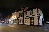 The Barrels, also known as The Lamb Hotel, in Hereford, Herefordshire, England, UK. Tuesday 26 March 2019