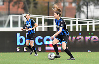 Nicky Van Den Abbeele (28 Brugge) pictured during a female soccer game between Club Brugge Dames YLA and Oud Heverlee Leuven on the 8 th matchday of the 2020 - 2021 season of Belgian Scooore Womens Super League , saturday 21 th November 2020  in Knokke , Belgium . PHOTO SPORTPIX.BE | SPP | DAVID CATRY