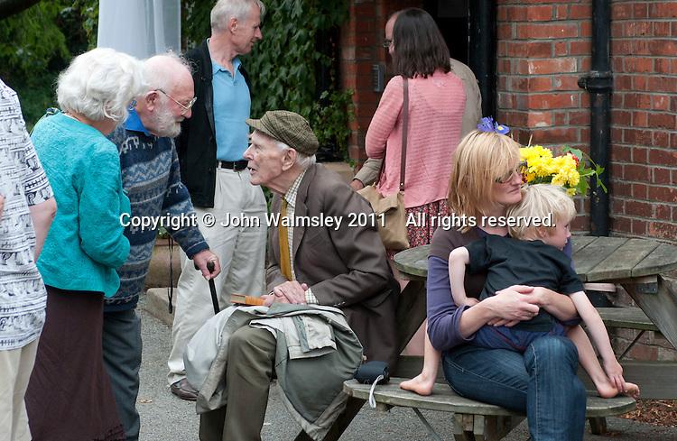 Reunion for Summerhill School's 90th birthday celebrations.
