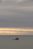 Sea Stack Off Ruby Beach, Olympic National Park, Washington, US