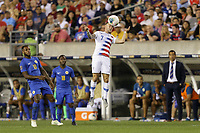 PHILADELPHIA, PENNSYLVANIA - JUNE 30: Paul Arriola #7 during the 2019 CONCACAF Gold Cup quarterfinal match between the United States and Curacao at Lincoln Financial Field on June 30, 2019 in Philadelphia, Pennsylvania. PHILADELPHIA, PENNSYLVANIA - JUNE 30: Paul Arriola #7 during the 2019 CONCACAF Gold Cup quarterfinal match between the United States and Curacao at Lincoln Financial Field on June 30, 2019 in Philadelphia, Pennsylvania.