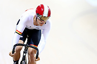 Cailen Calken competes in the Men Elite Sprint during the 2020 Vantage Elite and U19 Track Cycling National Championships at the Avantidrome in Cambridge, New Zealand on Friday, 24 January 2020. ( Mandatory Photo Credit: Dianne Manson )