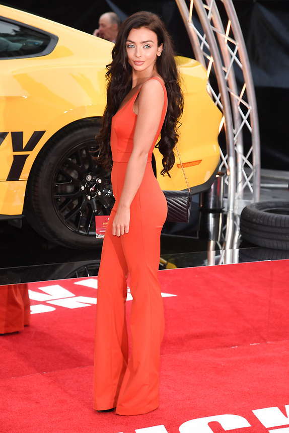 "Kady McDermott<br /> attending the premiere of ""Logan Lucky"" at the Vue West End, Leicester Square, London. <br /> <br /> <br /> ©Ash Knotek  D3295  21/08/2017"