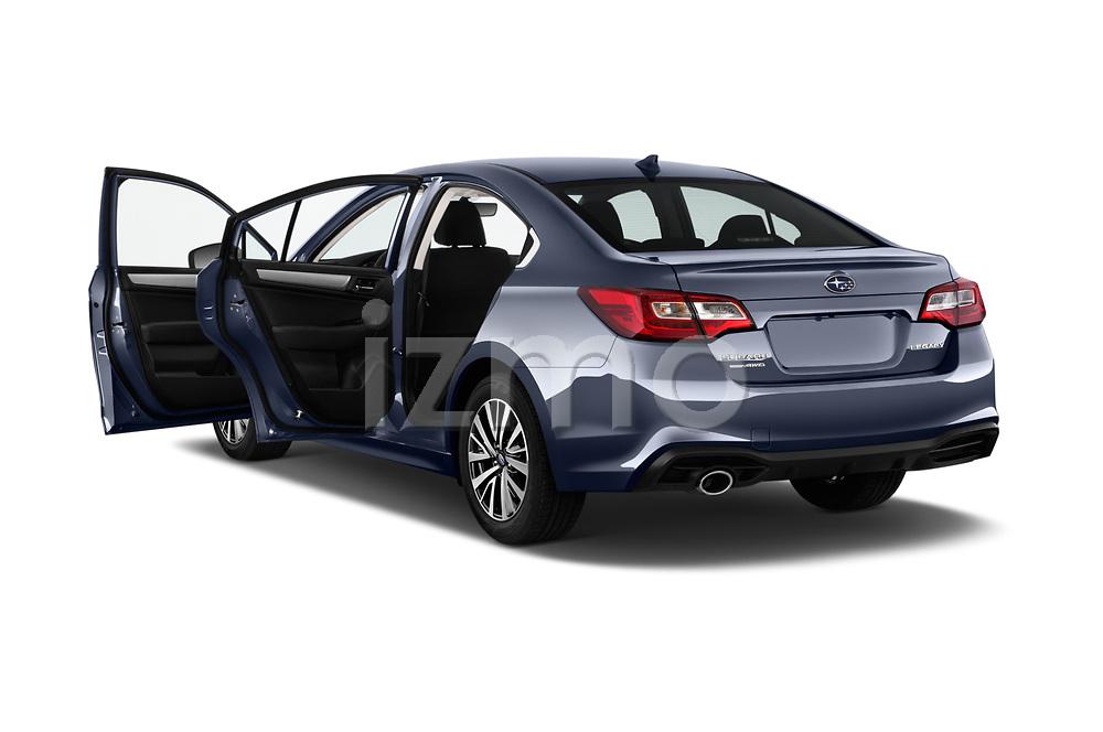 Car images close up view of a 2018 Subaru Legacy Premium 4 Door Sedan doors