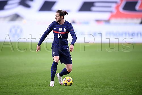 17th November 2020; Stade de France, Paris,  France; UEFA National League international football, France versus Sweden;  ADRIEN RABIOT (FRA)