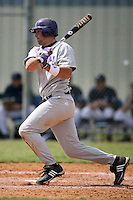 February 22, 2009:  Third baseman Chris Lashmet (27) of Northwestern University during the Big East-Big Ten Challenge at Naimoli Complex in St. Petersburg, FL.  Photo by:  Mike Janes/Four Seam Images
