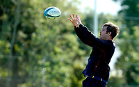 Tuesday 5th October 2021<br /> <br /> Sam Carter during Ulster Rugby training at Newforge Country Club, Belfast, Northern Ireland. Photo by John Dickson/Dicksondigital
