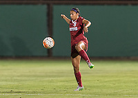STANFORD, CA - September 11, 2015: The Stanford Cardinal vs Penn State Nittany Lions women's soccer match in Stanford, California. Final score, Stanford 0, Penn State 2.