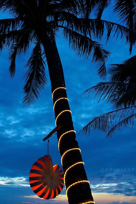 Boracay Island twilight/dusk Philippines