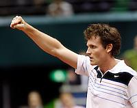 21-2-07,Tennis,Netherlands,Rotterdam,ABNAMROWTT,Dennis van Scheppingen defeats Monfils