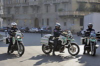- Milan, municipal policemen on motorcycle<br /> <br /> - Milano, vigili urbani motociclisti