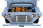 Car stock 2019 Moke America eMoke Base 5 Door SUV engine high angle detail view