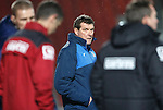 Ross County v St Johnstone...05.12.15  SPFL  Dingwall<br /> Tomy Wright watches Jim McIntyre<br /> Picture by Graeme Hart.<br /> Copyright Perthshire Picture Agency<br /> Tel: 01738 623350  Mobile: 07990 594431