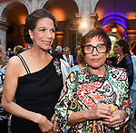 MARISELA FEDERICI E MARTINE BERNHEIM ORSINI <br /> RICEVIMENTO 14 LUGLIO 2021 AMBASCIATA DI FRANCIA<br /> PALAZZO FARNESE ROMA