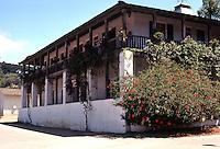 San Diego: Casa de Bandini, 1829. NE Corner, Old Town. Calhoun & Mason. Photo '78.