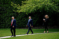 President Trump Departs White House For Pennsylvania
