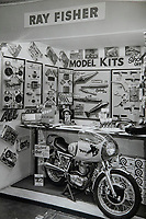 BNPS.co.uk (01202 558833)<br /> Pic: RayFisher/BNPS<br /> <br /> Pictured: Inside Ray's shop in 1969, when Ray employed 13 staff.<br /> <br /> Tireless Ray Fisher still works full-time in the motorcycle shop he opened 62 years ago - and he has plenty left in the tank.<br /> <br /> The 85 year old founded Ray Fisher's Brickbits in Christchurch, Dorset, in 1959 after training as a bike mechanic.<br /> <br /> It is a family affair as his two children Gerry, 58, and Stephanie, 54, have both worked solely for him since leaving school aged 16.<br /> <br /> Ray said he had loved bikes since childhood and learnt how to repair them while doing national service in the early 1950s.