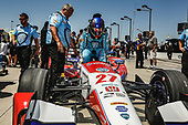 Verizon IndyCar Series<br /> Iowa Corn 300<br /> Iowa Speedway, Newton, IA USA<br /> Saturday 8 July 2017<br /> Marco Andretti, Andretti Autosport with Yarrow Honda<br /> World Copyright: Phillip Abbott<br /> LAT Images<br /> ref: Digital Image abbott_iowa_0717_1383