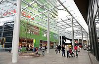 Nederland   Almere 2017.  Stadshart van Almere. Het stadshart is ontworpenm door OMA  Architecten.  Foto Berlinda van Dam / Hollandse Hoogte