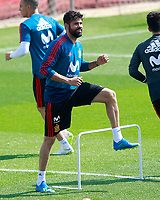 Spain's Diego Costa during training session. May 31,2018.(ALTERPHOTOS/Acero) /NortePhoto.com