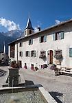Schweiz, Graubuenden, Bergdorf Latsch im Albulatal   Switzerland, Graubuenden, mountain village Latsch at Albula Valley
