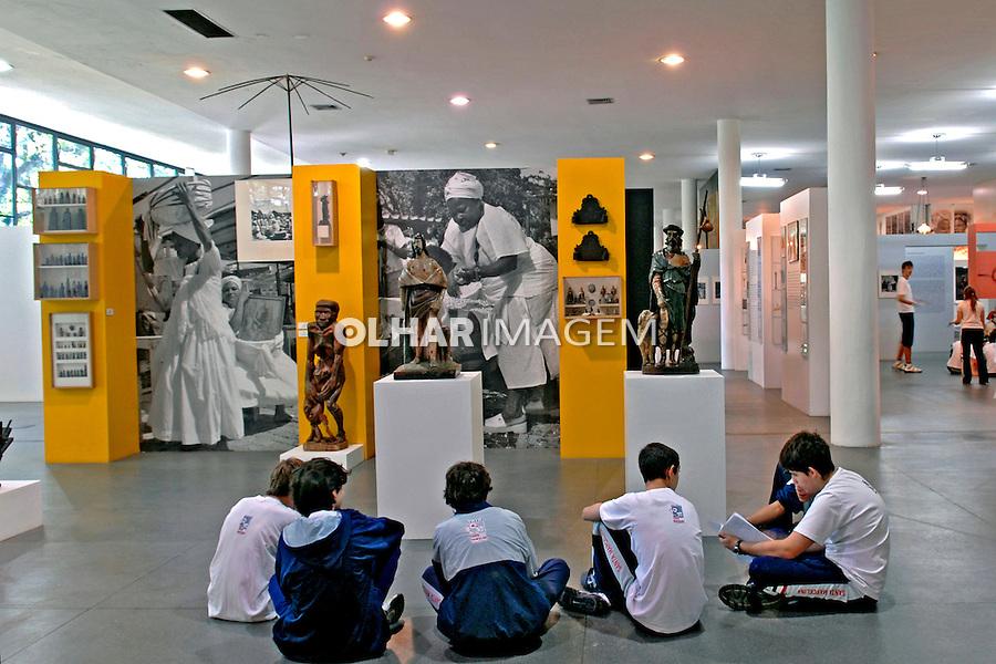 Museu Afro Brasil no Parque do Ibirapuera. São Paulo. 2010. Foto de Juca Martins.