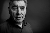 Eddy Merckx portrayed at his home in St-Brixius-Rode in 2010