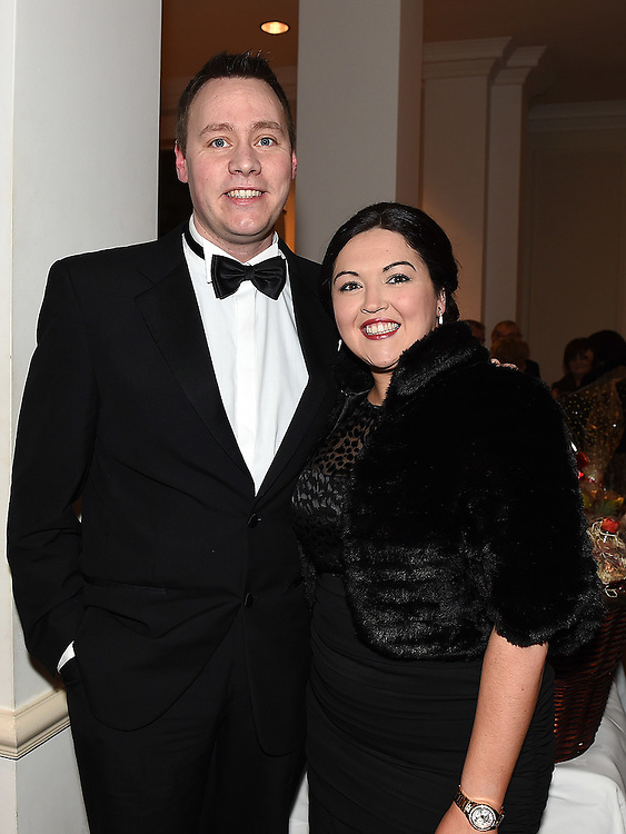 Damien and Michelle Curran pictured at the Ardee Traders Awards night in the Nuremore hotel Carrickmacross. Photo:Colin Bell/pressphotos.ie