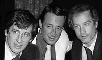 Steven Spielberg, Roy Scheider and Richard Dreyfuss June 1975<br /> Photo By Adam Scull/PHOTOlink/MediaPunch
