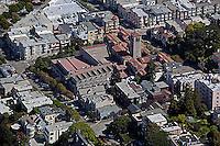 aerial photograph Art Institute San Francisco, California