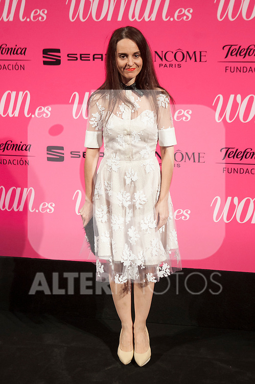 Ana Loquin attends Woman magazine awards in Madrid, Spain. April 20, 2015. (ALTERPHOTOS/Victor Blanco)