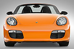 Straight front view of a 2008 Porsche Boxster LE