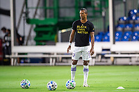 LAKE BUENA VISTA, FL - AUGUST 11: Nani #17 of Orlando City SC training before a game between Orlando City SC and Portland Timbers at ESPN Wide World of Sports on August 11, 2020 in Lake Buena Vista, Florida.