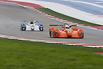 Matt McMurry (79), Eurosport Racing driver and Potolicchio (3), 8Star Motorsports driver in action during the ALMS/WEC practice sessions at the Circuit of the Americas race track in Austin,Texas.