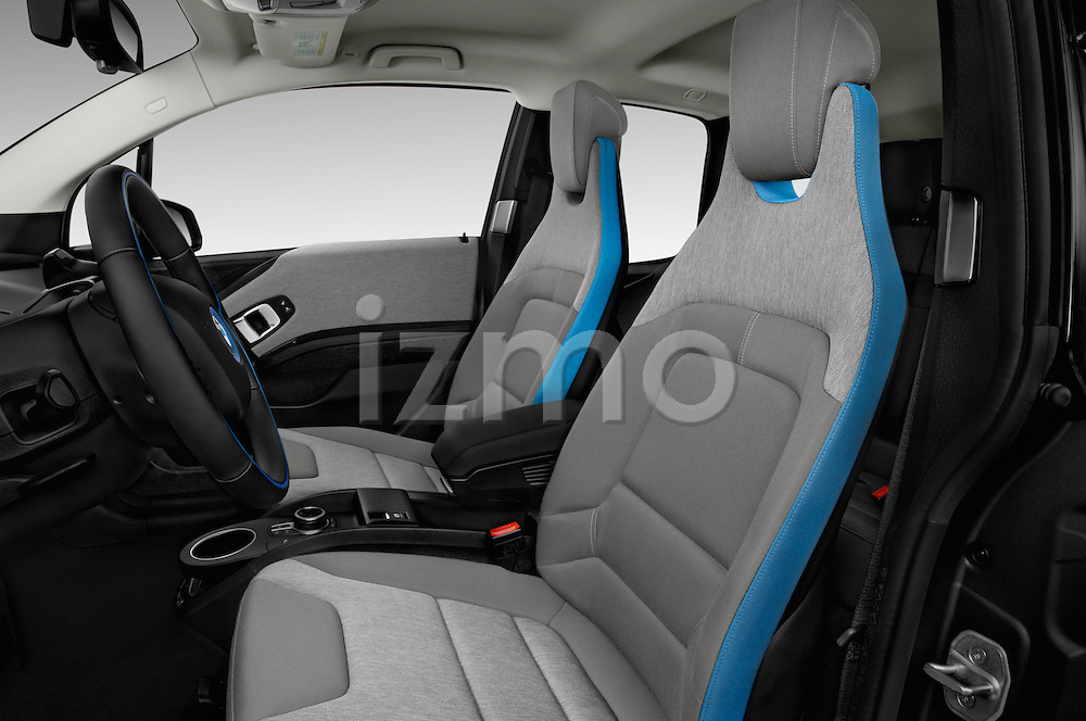 Front seat view of 2017 BMW i3 Range-Extender 5 Door Hatchback Front Seat  car photos