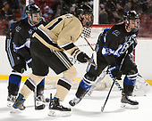 Tyler Deresky (Bentley - 11), Dominic Franco (Army - 11), Chris Buchanan (Bentley - 5) - The Bentley University Falcons defeated the Army West Point Black Knights 3-1 (EN) on Thursday, January 5, 2017, at Fenway Park in Boston, Massachusetts.The Bentley University Falcons defeated the Army West Point Black Knights 3-1 (EN) on Thursday, January 5, 2017, at Fenway Park in Boston, Massachusetts.