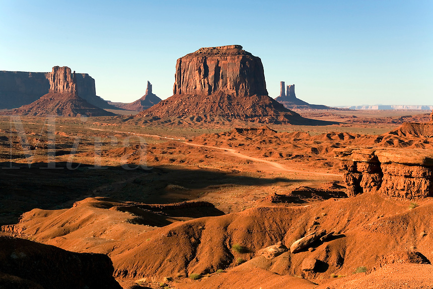 A view of Monument Valley