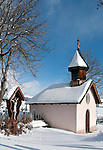 Italy, Alto Adige (South Tyrol), Maranza at Valley Pusteria: Chapel and shrine