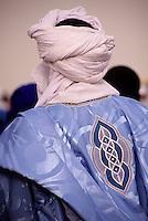 In-Gall, near Agadez, Niger - Tuareg Man, Embroidered Boubou, Turban