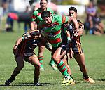 Shannon Telfar in action.Tasman Rugby League Richmond Rabbits v Tahunanui Tigers , Saturday 22 March 2014,  , Nelson, New Zealand Photo:Evan Barnes / Shuttersport.
