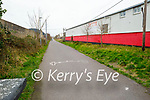 Very quiet on the Tralee Greenway on Sunday afternoon