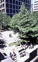 Seattle: Freeway Park, 1976. Lawrence Halprin & Assoc., Angela Danadjieva, Project Designer.